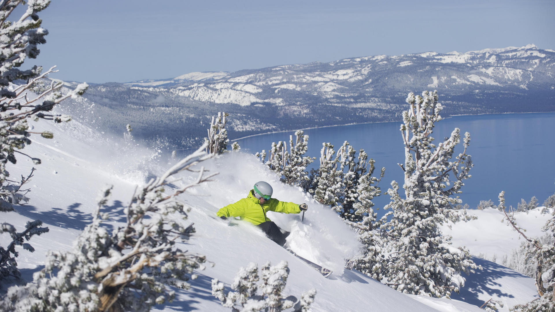 south lake tahoe winter activity
